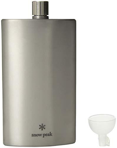 Snow Peak Titanium Flask, Large
