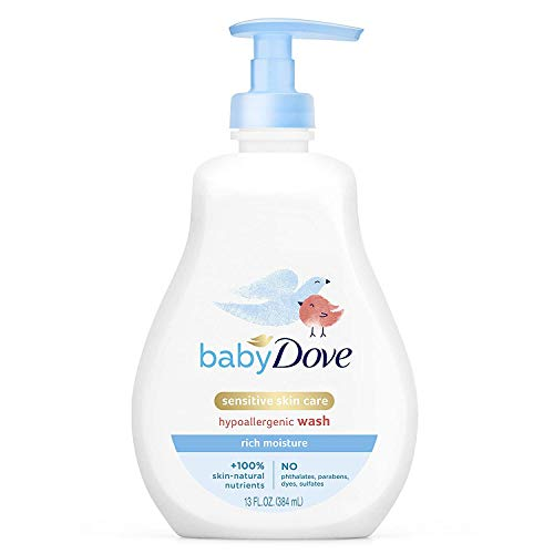 Baby Dove Tip To Toe Wash Rich Moisture - 13 oz, Pack of 4