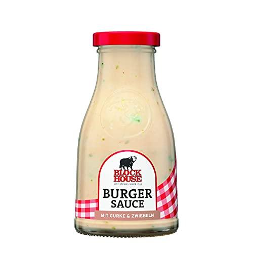 Block House Burger Sauce 240ml für Fleisch oder Burger - in Restaurantqualität