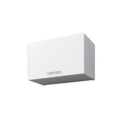 START Meuble hotte 1 porte horizontale 60 cm - Blanc mat