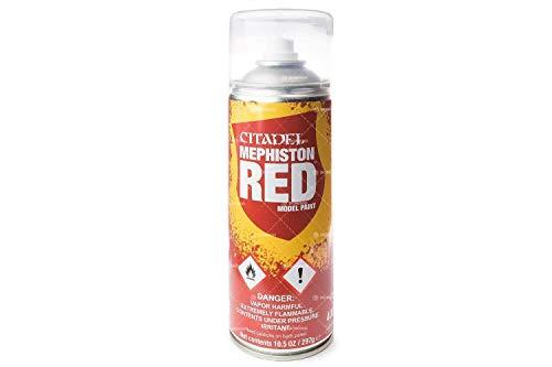 Spray Primer Citadel Mephiston Red (400ml)