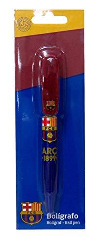 CYP- Bolígrafo Basic con Clip Decorado en Blíster FC Barcelona, Multicolor (BP-32-BC)