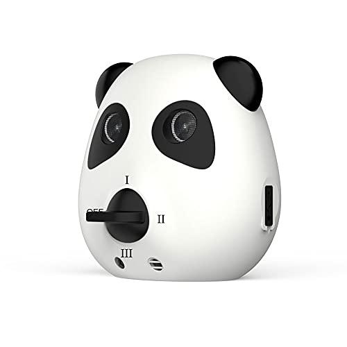 Panda Ultrasonido Collar Antiladridos para Perros Pequeños y Grandes Dispositivo Antiladridos Perros Collar Adiestramiento Anti Ladrido para Perro Anti Bark