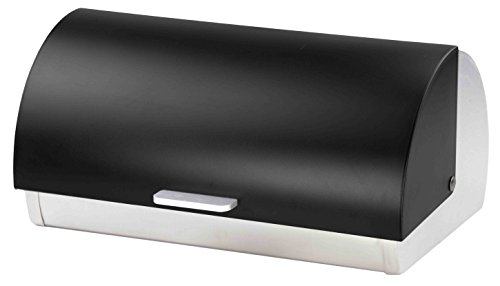 Home Basics Bread Box - Stainless Steel/Frosted