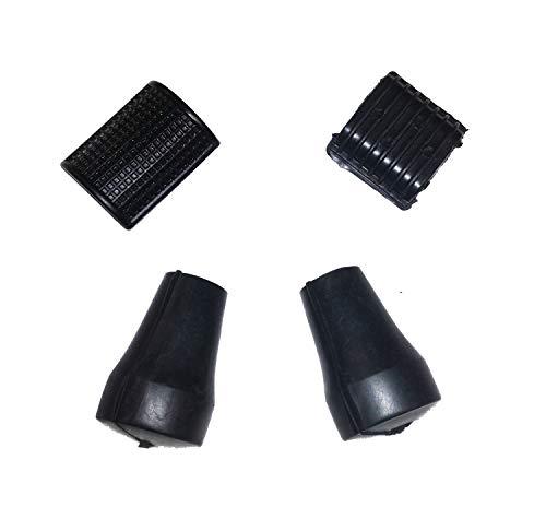 Kit restauro Vespa Px piedini scarpette cavalletto e plastiche copri pedale freno e leva avviamento