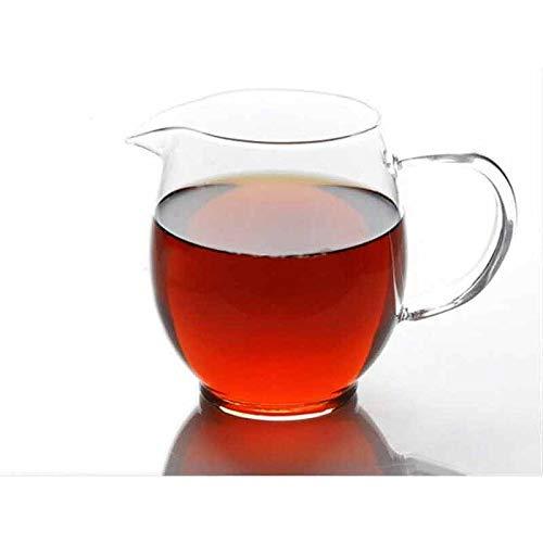 Zoo-Yilchu Tetera, Té de la Taza de 500 ml Hecho a Mano de Cristal Resistente al Calor Tetera, cha Hai Gongdao la Taza de té Taza de Feria, Kung Fu Tazas de té Juego de té