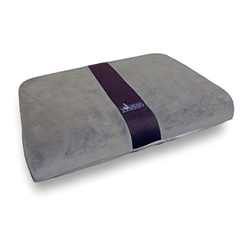 Seat Cushion for Extra Wide Wheelchairs & Office Chairs - Full 25 Inches Wide - Clinical Therapeutic Grade Orthopedic Sitting Pad - Users 200 to 500lbs
