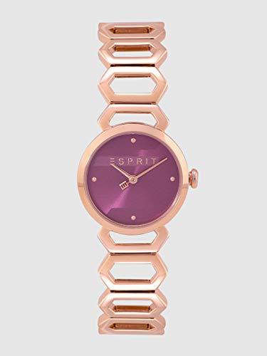 Esprit ES1L021M0055 - Orologio da donna Arc Purple oro rosa