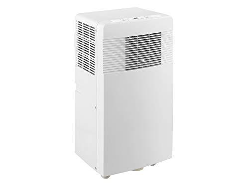 PAC 2 Aire acondicionado portátil 2,6 kW (Bajo consumo clase A, función ventilador, modo secado, temporizador, refrigerador, mando a distancia, ruedas transporte) [Clase de eficiencia energética A]