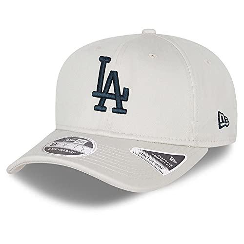New Era 9Fifty Stretch Snap Cap Los Angeles Dodgers stone ML