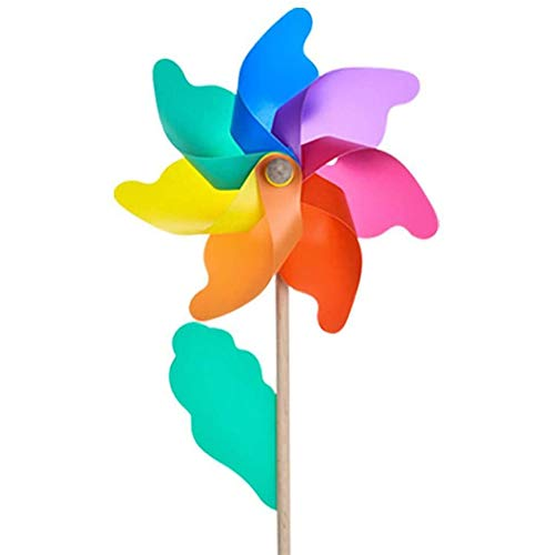 Pofet -   Regenbogen Windrad,