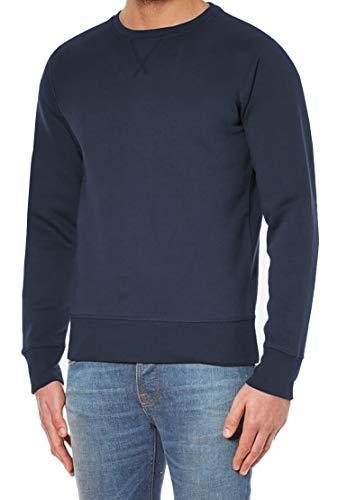 Hann Brooks Mens Cotton Icon Crew Neck Long Sleeve Sweater Sweatshirt Top...