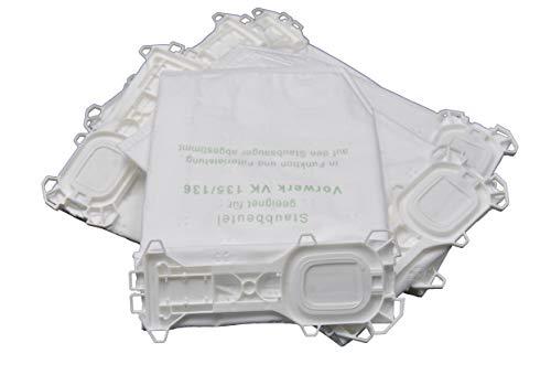 18 Staubsaugerbeutel geeignet für Vorwerk Kobold VK 135 136 135SC VK135 VK136 FP135 FP136 FP135 SC von FSProdukte