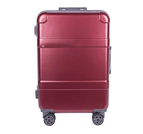 Trolley koffer, 24 inch koffer bagage ultra lichtgewicht PC hard shell trolley koffer met 4 wielen dragen bagage