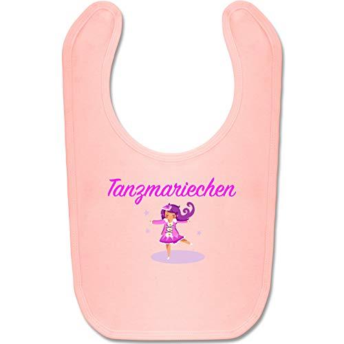Shirtracer Karneval und Fasching Baby - Tanzmariechen pink - Unisize - Babyrosa - tanzen lätzchen - BZ12 - Baby Lätzchen Baumwolle