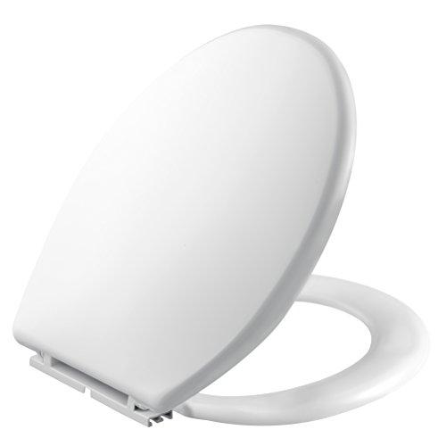 Negrari 1100 Sedile WC Universale Atlantic in Resina Infrangibile, Bianco, 650 g