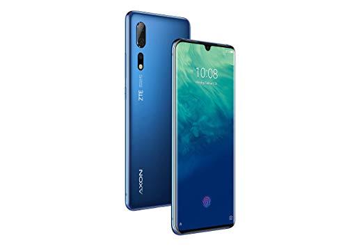 ZTE Smartphone Axon 10 Pro (16.43 cm (6.47 Zoll) AMOLED Bildschirm, 128GB interner Speicher & 6GB RAM, 48MP Hauptkamera, 20MP Frontkamera, Dual-SIM, NFC, Android 9) Blau