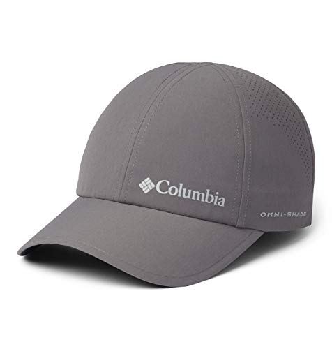 Columbia Silver Ridge III, Gorra unisex, Fibra sintética, Color: Gris (City Grey),...