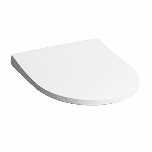 Keramag iCon WC-Sitz Slim mit Deckel, Wrap over, antibakteriell Mit Absenkautomatik soft-close