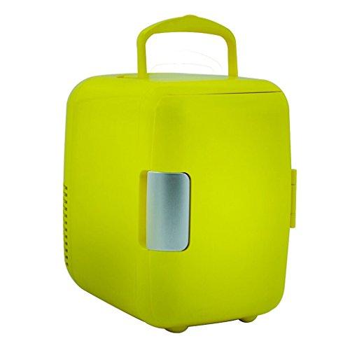 JCOCO Auto Frigorifero per auto da 4L Mini portatile per refrigerazione portatile per il riscaldamento del latte materno per il riscaldamento al seno e scatola di raffreddamento