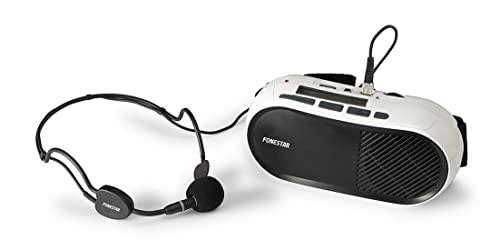 Fonesar FAP-12GU - Amplificatore audio cablato nero, bianco (10 W, D, 7 W, 270-20000 Hz, 3,5 mm)