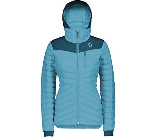 Scott Skijacke Damen Insuloft Warm majolica blue/bright blue M