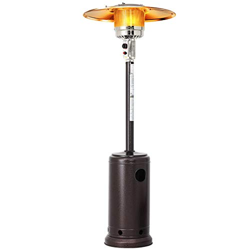 Patio Heater, 13 kW Liquid Gas Patio Heater, Quartz Glass Tube Patio Heater for Outdoor Restaurants, Bars, Villa Courtyards,Natural gas