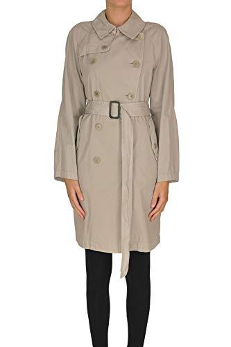 Luxury Fashion | Aspesi Dames MCGLCSC0000B7025E Grijs Katoen Trenchcoats | Seizoen Outlet