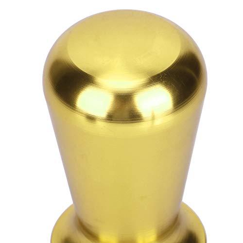 Martillo de prensa de café Martillo de polvo de café Herramientas de café Accesorio de máquina de manipulación de café para polvo prensado(yellow)