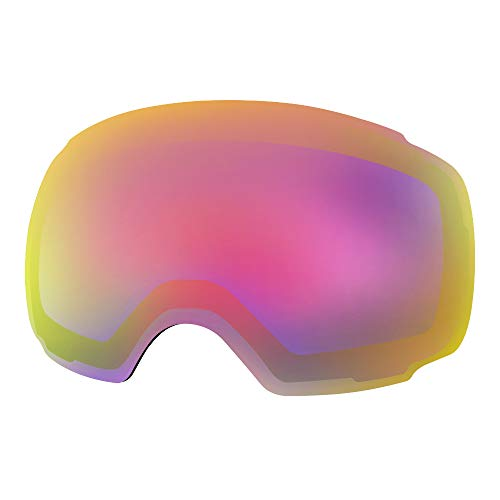 OutdoorMaster Ski Goggles PRO Replacement Lens - 20+ Different Colors ( VLT 45% Fuchsia Lens with Free Carrying Pouch )