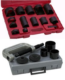 Ball Joint/U Joint/C Frame Press Service Set Forged Clamp 21 pc for Trucks, Cars, 4WD trucks