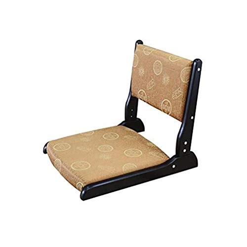 Wuzhengzhijia Massivholz-Klappstuhl Bodenstuhl Schlafzimmer Sitzerkerfenster Klappstuhl, beweglicher Legless Stuhl ist robust und schön, gebraucht in Schlafzimmer Wohnzimmer, Etc. (Size : 8)