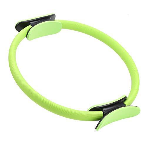 VGEBY Anillo de Yoga, Entrenamiento de Fitness en casa, Anillo de Pilates, Anillo de Ejercicio de Gimnasio, Equipo de Entrenamiento de círculo de Ejercicio manejado(Verde)