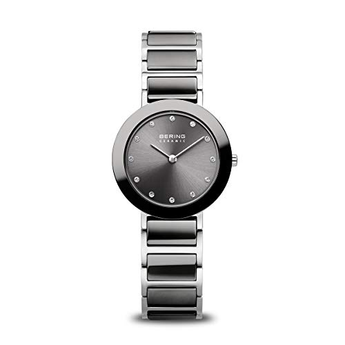 BERING Damen Analog Quarz Uhr mit Edelstahl Armband 11429-783