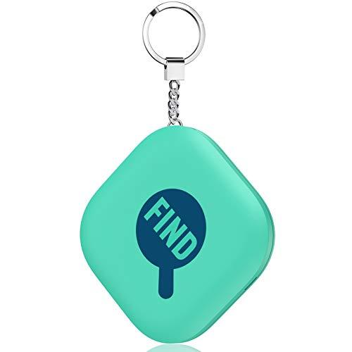 キーファインダー Kydlan スマートトラッカー Key Finder 探し物発見器 スマホ/探し物がみつかる 音が大きいアラーム 使用便利 操作簡単 小型 軽量 電池交換可能 専用アプリ 薄荷色