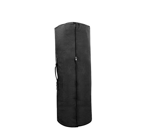 """Price comparison product image Rothco Canvas Duffle Bag with Side Zipper,  25"""" x 42"""",  Black"""