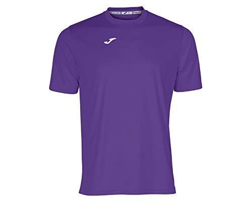 Joma Combi Camiseta Manga Corta, Hombre, Morado (Violeta), 2XL-3XL