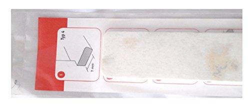 Abschlußkappe für Fensterbänke, InStyle-Blende Type 4 Eisgranit VE1 ca. 4 cm breit