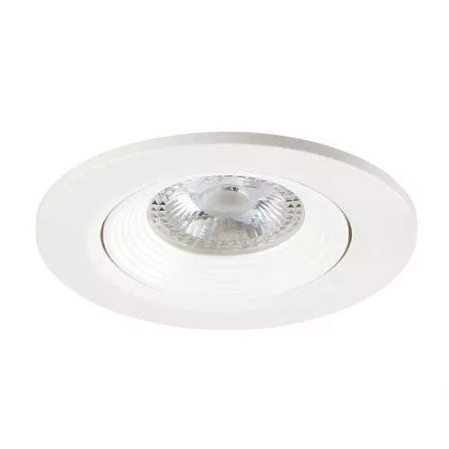 Sylvania SYL3031530 Spot SYL-Lighter CFL-4000 K Lampe-TC-Del 2x26 Watts G24q-3 Aluminium Blanc