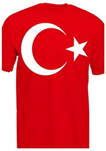 Camiseta de Turquía con Bandera turca de la Mitad de la Luna, Orgullosa de la casa, la Puerta, Media Luna, Estrella, Atatürk