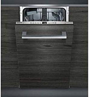 Siemens iQ300 SR635X04IE lavavajilla Totalmente integrado 9 cubiertos A++ - Lavavajillas (Totalmente integrado, Estrecho (45 cm), Acero inoxidable, Botones, 1,75 m, 1,65 m)