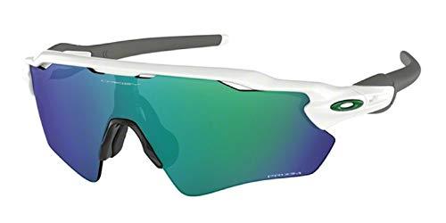 Oakley Radar EV Path OO9208 920871 38M Polished White/Prizm Jade Sunglasses For Men+BUNDLE with Oakley Accessory Leash Kit