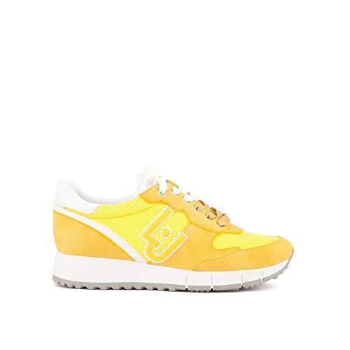 Liu Jo B19019 PX027 Sneakers Femme Jaune 39
