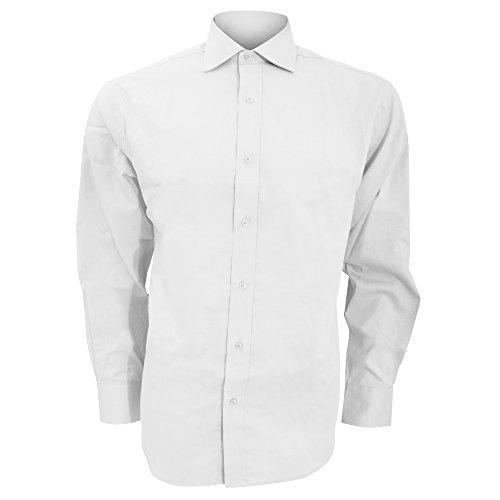 KUSTOM KIT - Chemise à Manches Longues - Homme (S/M) (Blanc)