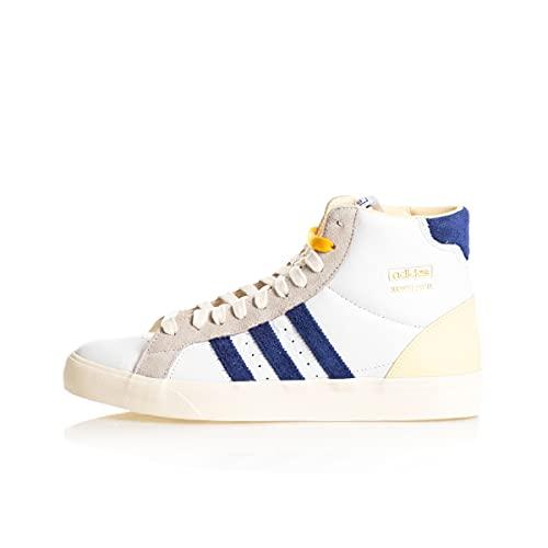 adidas Basket Profi, Zapatillas Deportivas Hombre, FTWR White Victory Blue Cream White, 42 EU