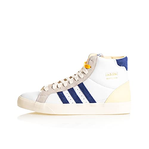 adidas Basket Profi, Zapatillas Deportivas Hombre, FTWR White Victory Blue Cream White, 42 2/3 EU