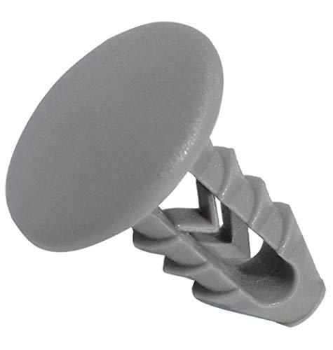 AERZETIX: Juego de 25 grapas clips remaches especial para guarniciones interiores de coche C42915