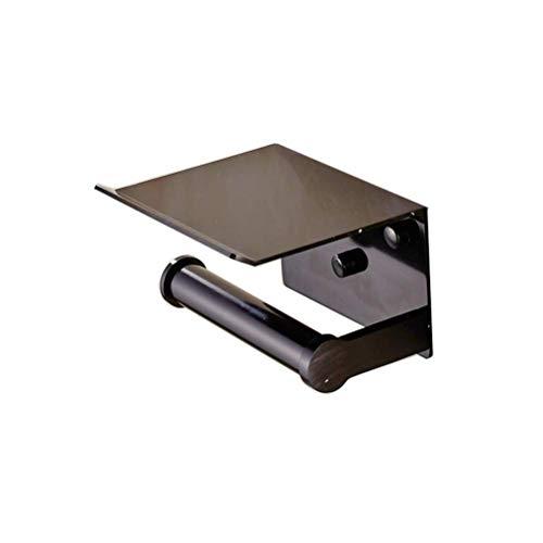 Aishiping toiletrolhouder voor aan de muur, van aluminium, handdoekhouder, rolhouder voor badkamer