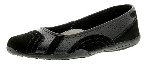 Strollers Jackie Womens Flat Shoes Black 6 UK