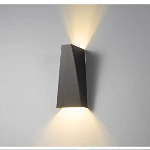 Lámpara de pared 10W LED moderno arriba y abajo Lámpara de la luz de la pared para el montaje interior Sconte Pathway Escalera de la escalera Dormitorio Corredor Lectura Sala de estar Balcón I